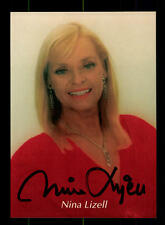 Nina Lizell Autogrammkarte Original Signiert ## BC 75074
