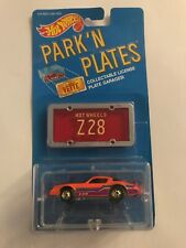1988 Hot Wheels Park 'N Plates Camaro Z-28