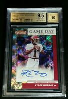 1/1 JSY# 1/15 KYLER MURRAY RC AUTO BGS 9.5/10 SSP DIAMOND ROOKIE 2019 Contenders