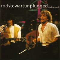 ROD STEWART - UNPLUGGED AND SEATED CD ~ RONNIE WOOD *NEW*