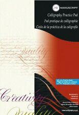 Manuscript Practice Pad Calligraphy Writing Paper (50 Sheets)