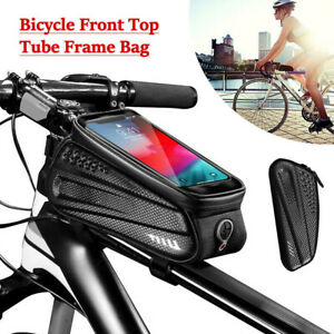 Bike Cycling Frame Bag Bicycle MTB Front Top Tube Bag Phone Pouch Waterproof AU