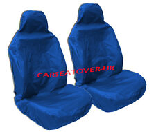 Jeep Compass - Heavy Duty Blue Waterproof Seat Covers - 2 x Fronts
