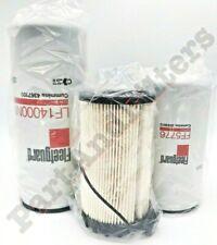 Cummins ISX Oil Change Kit #2 LF14000NN FF5776 FS36401