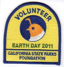 Auburn SRA - Earth Day 2011 - Volunteer Award Patch - CSPF