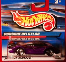 HOT WHEELS  2000 - 172 - porsche 911 _mint on short CARD