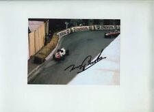 Tony Brooks Yeoman Credit Cooper T51 Monaco Grand Prix 1960 Signed Photograph
