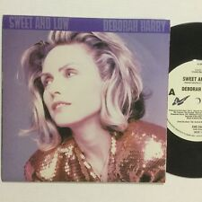 """Deborah Harry Sweet And Low OZ Pressing EXc Piture Cover 7"""" Single Record"""