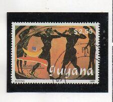 Guayana Deportes Olimpiada Barcelona 92 valor del año 1989 (CU-700)