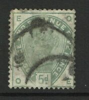 Great Britain SG# 193 Used / Light Upper Left Corner Crease - S3470