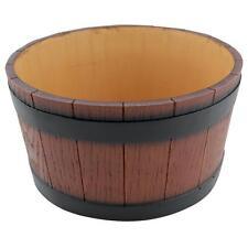 Wood Effect 'Barrel End' Ice Tub - 9L (19 pint)