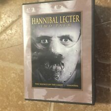 Hannibal Lecter two-pack DVD Silence of the Lambs Jodie Foster Anthony Hopkins
