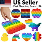 Popit Fidget Toy Push Bubble Sensory Stress Relief Kids Family Games Square Game <br/> [LARGE SIZE] - [REAL POPIT MATERIAL] - [SHIPS TODAY!]