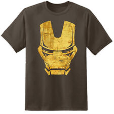 IRON MAN DISTRESSED MARVEL PRINT / TONY STARK INDUSTRIES T SHIRT (S - 2XL)