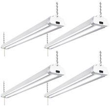 Hykolity 4FT LED Shop Light 42W Linkable Flush Mount for Garage Workshop 4 Pack