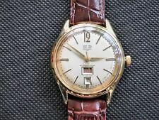 Glashütte GUB Kal. 66.1 Tag und Datum aus 1960 Handaufzug sehr selten