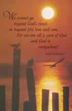 Helen Steiner Rice : Christian Sentiment with SEASCAPE Postcard!