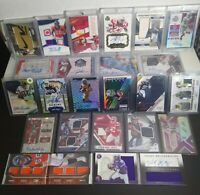 25 Card Football BARGAIN Repack Lot Auto PATCH Jersey RELIC Game Used RPA