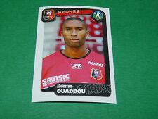 N°306 OUADDOU STADE RENNAIS RENNES ROAZHON PANINI FOOT 2005 FOOTBALL 2004-2005