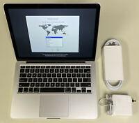 "Apple MacBook Pro 13"" A1502 2.6GHz Core i5 16GB RAM 256GB SSD 10.15 Catalina"