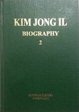 KIM JONG IL BIOGRAPHY VOL 2 Rare Official North Korean published Book DPRK KDVR