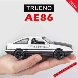 1:28 Toy Cars INITIAL D AE86 Metal Toy Alloy Car Diecasts Toy Vehicles Model
