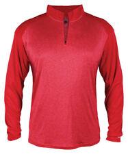 Badger Sportswear Men's New Self Fabric Polyester Sport 1/4 Zip Pullover. 4394
