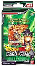 Dragon Ball Z Super The Dark Invasion Starter Deck Series 3 Cross Worlds BANDAI