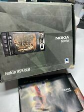 Nokia N95 8Gb Mobile Phone Old Stock Rare Collectors Gsm Cell 2