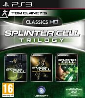 Tom Clancy's Splinter Cell Trilogy HD (Sony PlayStation 3, PS3)