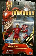 "Marvel IRON MAN 2 MARK VI Movie Series New! 6""/15cm Figure Walmart Exclusive"