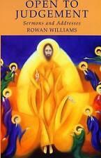 Good, Open to Judgement: Sermons and Addresses, Rowan Williams, Book