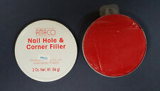 AMACO Wood Picture Frame Nail Hole and Corner Filler 2 OZ. Red