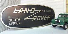 Land Rover Defender CKD South Africa Leykor Tub Badge Decal Label Etched Nickel