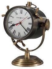 635- 193  VERNAZZA -HOWARD MILLER SPOTLIGHT-STYLE MANTEL CLOCK