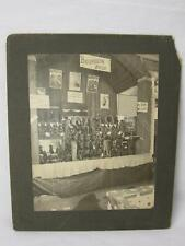 Bourquin Bros Shoe Display Fair Show Store Cabinet Card Photo Old Vt Antique