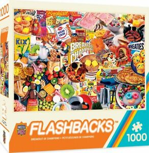 Masterpieces - Flashbacks Breakfast of Champions Jigsaw Puzzle (1000 Pieces)