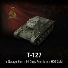 World of Tanks   WoT   Bonus Code   T-127 + 600 Gold   EU   PC