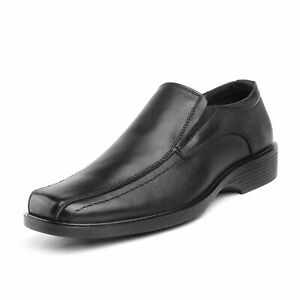Bruno Marc Men's Genuine Leather Dress Casual Slip On Comfort Loafer Shoes