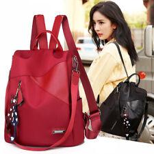 Leisure Backpack Bag Female Designer School Bags For Teenager Girl Waterproof