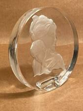Danbury Mint Mother'S Day 1978 Lead Crystal Paperweight No Box