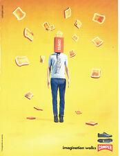Publicité Advertising  117  2009  baskets chaussures Camper