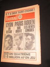 FRANCE FOOTBALL N° 1594 1976 PSG PARIS BORDEAUX 2-1 ANGERS ST-ETIENNE 4-2 LYON