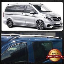 Mercedes Vito / Viano Lange Radstand  W639 W 447  Aluminium Dachreling Silver