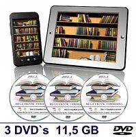 E-BOOK SAMMLUNG über 11 GB ebooks Romane Abenteuer Krimi Erotik Sagen  ✔3 DVD