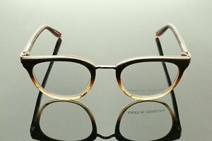 Authentic B. PERREIRA Glasses PAULINA 48 Women Maple Ombre Rose Gold MSRP 448$