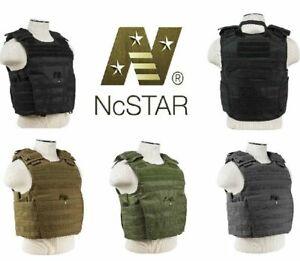NcStar Heavy Duty Expert Ballistic Plate Carrier Vest MOLLE M-4XL Adjustable