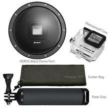 "US 6"" Underwater Diving Camera Lens Dome Port Cover Handgrip for GoPro Hero 5"