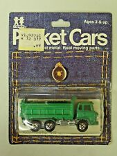 Vintage Tomy Pocket Cars Hino Dump Truck No.116-52 NIP 1974 ***Hard to find***