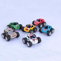 New Mini Big Wheels Metal Die-cast Pull Back Car Children's Toys Toy Model